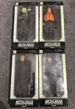 "METAL GEAR SOLID konami Bambola Collezione FULL SET - 12"" 1/6 ACTION FIGURE YAMATO"