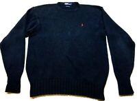Polo Ralph Lauren Mens Blue Long Sleeve Sweater Size XL