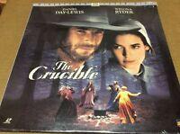 The Crucible Laserdisc LD THX WS Daniel Day Lewis Winona Ryder SEALED BRAND NEW