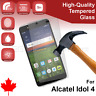 Alcatel Idol 4 Premium Clear Tempered Glass Screen Protector from Canada