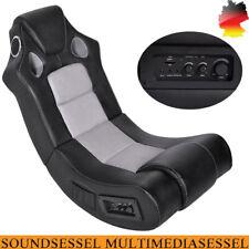 Soundsessel Multimediasessel Musiksessel Schaukelstuhl Kunstleder Musikstuhl