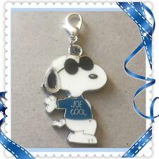 ❤️ Peanuts Snoopy Joe Cool  ❤️ Zipper Pull Charm with Lobster Clasp / New #70