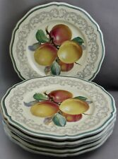6 ROSENTHAL GERMANY LUNCHEON PLATES-CHIPPENDALE M 672
