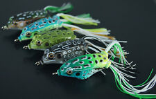 3pcs 8g Simulation  Ray Frogs hooks snakehead Killer Frog Fishing Lure / Bait