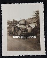 Altes Foto französischer Panzer / Frankreich 2. WK
