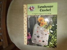 Farmhouse Crochet= 15 Designs by Leisure Arts