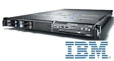 €488+IVA Server 1U IBM System x3550 2x Xeon E5405 2.0 GHz 8GB 4x146GB SAS RAID