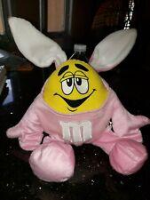 "M&M's Yellow 10"" Plush Bunny  Costume"
