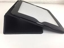 Magnetic Leather Ipad 2 Protector Cover Black