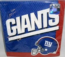 "New York Giants Luncheon Napkins 16 Ct 2-Ply 12 7/8"" X 12 7/8"""