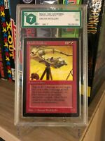 ORCISH ARTILLERY LIMITED EDITION BETA 1993 GRADED 7 NM MTG ENG