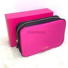 Prada Bag Pouch Makeup Cosmetic Bag Vanity Case Candy Perfumes Pink/Black RARE!!