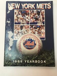 1989  New York Mets Official Yearbook
