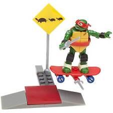Mega Bloks Teenage Mutant Ninja Turtles RAPH SKATE TRAINING - TMNT - NIB