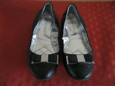 "Women's RAMPAGE ""Marney"" Black Slip On Ballet Flats Size 7M"