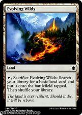 EVOLVING WILDS Dragons of Tarkir Magic The Gathering MTG cards (GH)