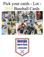 Pick your cards - Lot - 2019 Baseball cards (stars, rookies, parallels, inserts)