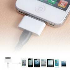 Female Micro USB To Male for Apple 30 Pin iPhone4 4S 3G 3GS Charger Adapter NI5L