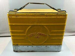 Vintage Royal Crown RC Cola Cooler w Inside Tray & Original Bottle Opener
