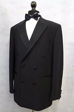 Men's Black M&S Tuxedo Dinner Suit 42L W36 L33 SK1210