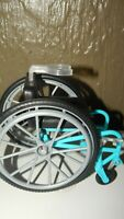 BARBIE Fashionista  MADE TO MOVE WHEELCHAIR Wheel Chair Doll Accessory GUC