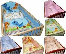 Girls' 100% Cotton Cot Bumpers