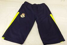 Real Madrid FC Men's  3/4 Pants Navy Blue NWT Size Small