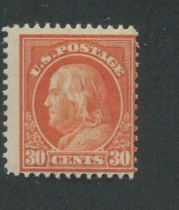 1914 US Stamp #420 30c Mint Hinged Average Original Gum