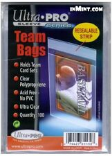Ultra Pro Card Sleeves Team Bags Resealable Card Game