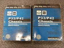 1996 Chevy GMC Truck P32 P42 Motorhome Chassis Shop Service Repair Manual Book