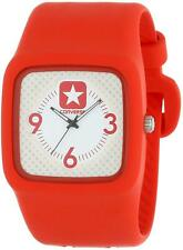 Red Converse Analogue Quartz VR030-660 Unisex Watch Rubber Strap