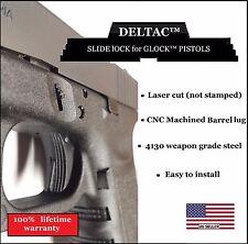 Deltac Extended Slide Lock release Lever For Glock 17 19 20 21 23 Gen1 to Gen4