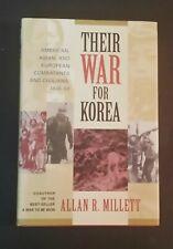Allan R Millett - Their War For Korea - hbdj