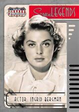 2015 Panini Americana SCREEN LEGENDS Trading Card Insert #08 / INGRID BERGMAN