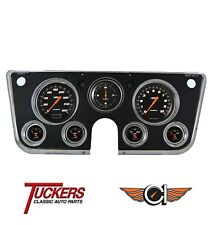 67-72 Chevy GMC Truck C10 Velocity Black Classic Instruments Gauges CT67VSB