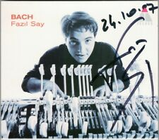 Fazil SAY Signiert BACH Italian Concerto French Suite No.6 Prelude & Fugue 846