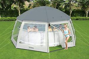 Bestway Dome Poolzelt Pavillon 58612 Rund Pool Dome 600x600cmx295cm TOP