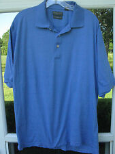 Lyle & Scott Scotland Short Sleeve Mercerized Cotton Light Blue Polo Shirt XL