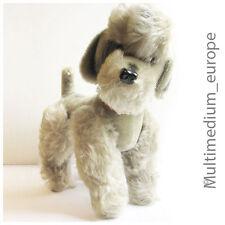 Pudel hund Hermann platin blond silber grau Stofftier