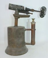Vintage antique Turner blow torch lamp brass