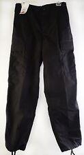 Tru-Spec Black Pants Professional Grade Cargo PTS BDU 1324003 Men's Small NWT