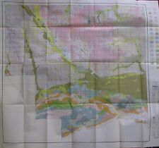 Folded Color Soil Survey Map Platte County Nebraska Columbus Monroe Creston 1929