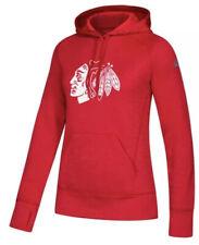 Adidas Women's Chicago Blackhawks NHL Team Issue Hoodie Sweatshirt Small S