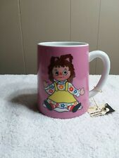 Vintage Musical Cup For Display, Raggedy Ann