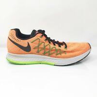 Nike Mens Air Zoom Pegasus 32 749340-803 Orange Running Shoes Lace Up Size 11