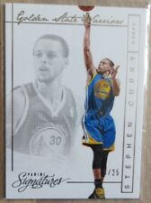 2013-14 Panini Signatures #154 Stephen Curry/25 MVP NBA Champion Warriors