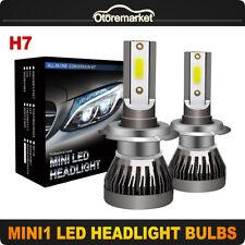 1 Pair H7 LED Headlight Converstion Kit 6000K White High Power Auto Lamp Bulbs
