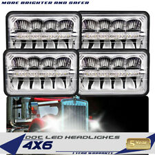 Rectangular 4X6inch DOT LED HEADLIGHTS with DRL for WESTERN STAR HERITAGE
