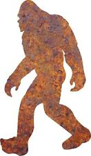 DXF CNC dxf for Plasma Router Clip Art Vector Bigfoot  Garden Stake Man Cave