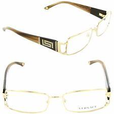 NEW VERSACE Eyeglasses VE 1163B 1221 52mm Gold / Demo Lens